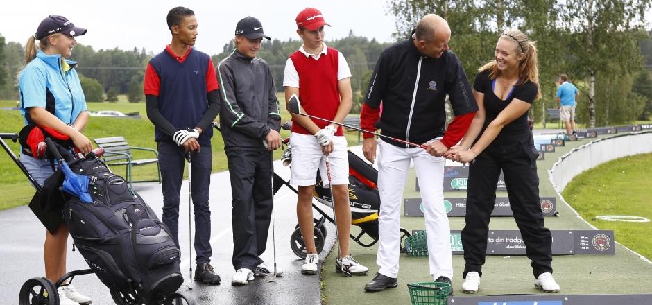 Golfträning