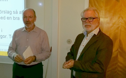 Jan Norberg avtackas med Silvermärket