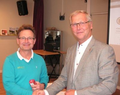 Lars Grufman mottar Bronsmärket