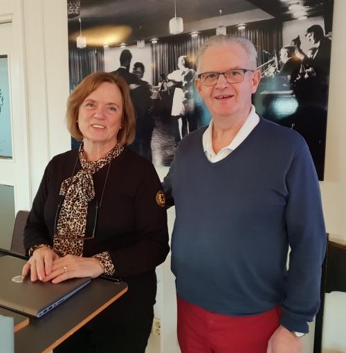 Lill Ingvarsson och Sten Björnson