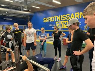 Team Sörmland uppbyggnad