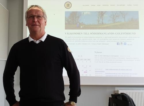 Vårårsmöte_2019 Ordförande Mikael Larsson hälsar välkommen