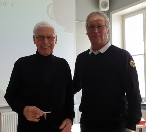 Vårårsmöte 2019 Rolf Eriksson, Guldmärke