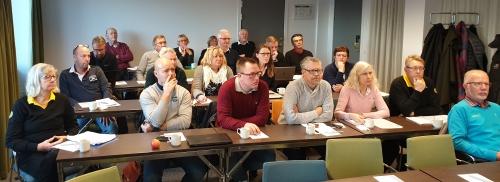 Utläggningskonferens med Tävlingskommittén 2019